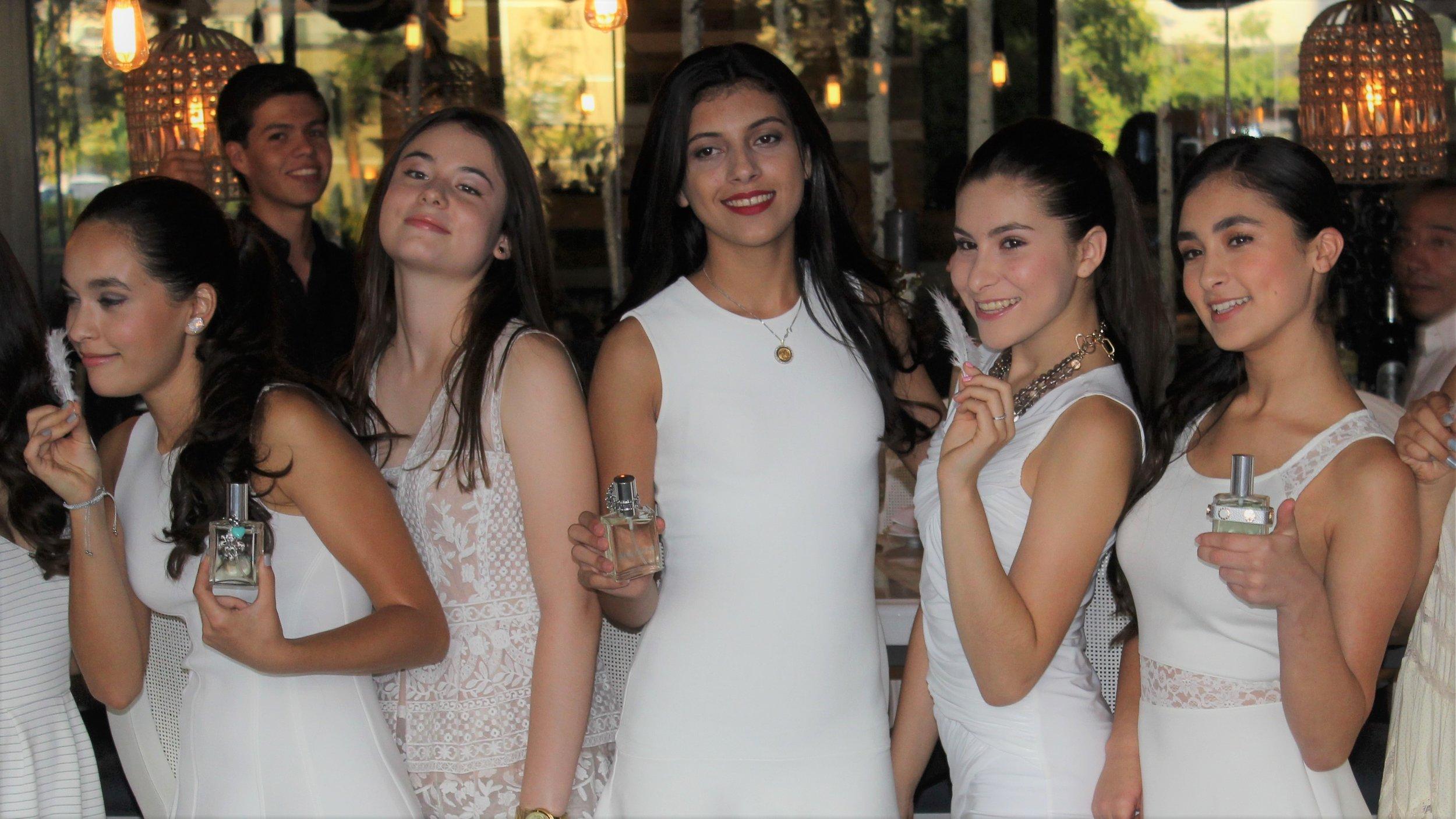 Quinceanera Custom Fragrance Event