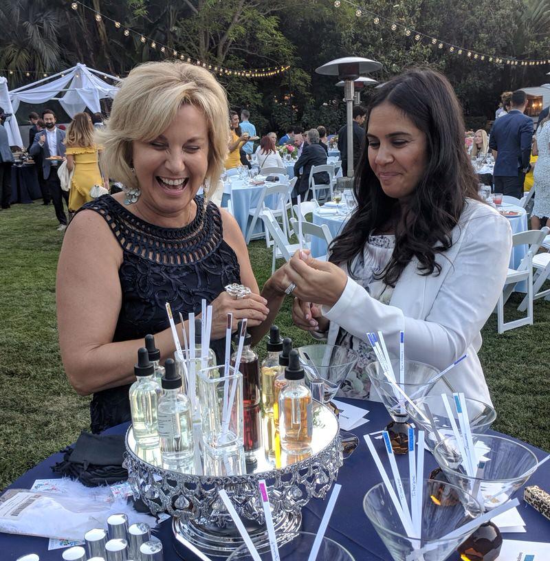 Bridal Event Custom Scent Bar