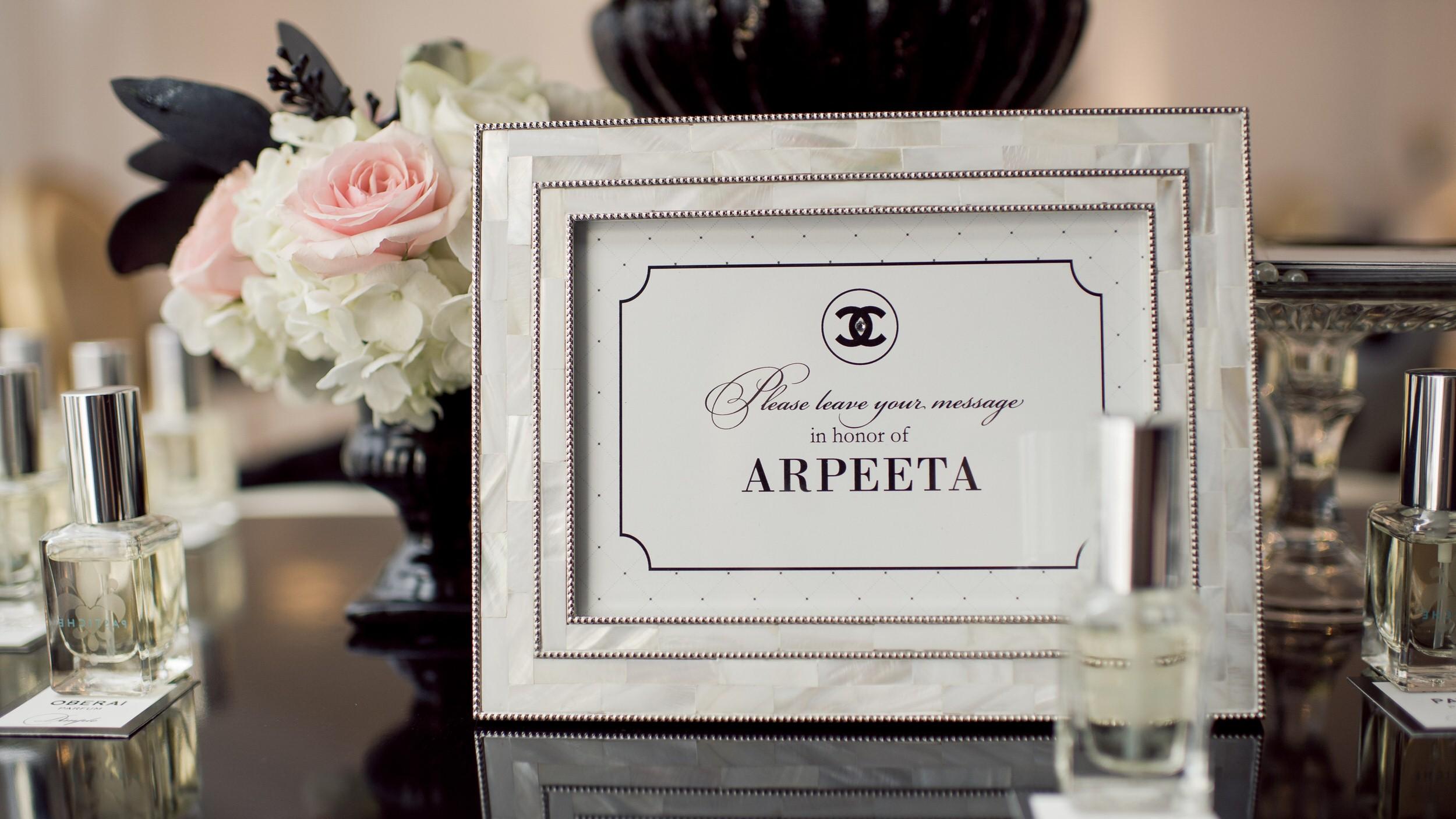 Bridal Custom Fragrance Event