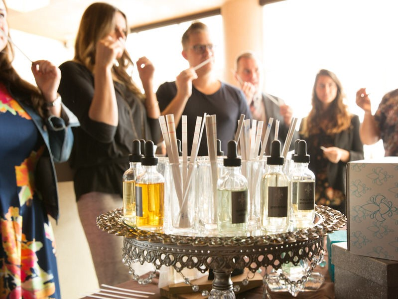 Custom Fragrance Bar Party
