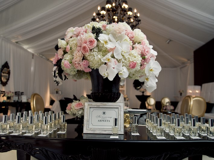 Fragrance Bar Wedding