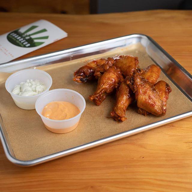 Winner Winner Chicken Dinner!🍗 Make sure to stop by today and grab an order of our Adobo Wings!  #grandeur #halal #chickenwings #letseat #imhungry #ranch #oaklandfoodie #berkeley #berkeleyfoodie