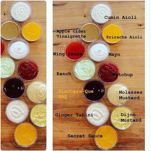Lovin' our sauces❤️🧡💛💚....here's the breakdown! Mix and match to create your perfect flavor for your burger, hot dog or fries. 🚨 IMPORTANT MESSAGE: THEY ARE ALL VEGAN AND MADE IN HOUSE!🚨 #mixandmatch  #grandeur #sause #oaklandvegan #oaklandfoodie #berkeley #berkeleyvegan #berkeleyfoodie #vegitarianfood #veganfood