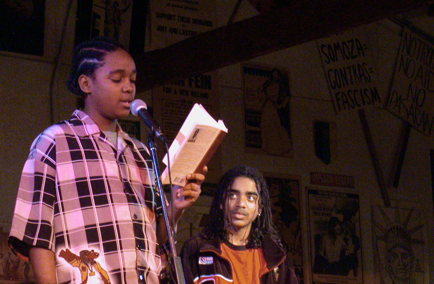 Book Reading at a Benefit Concert for Jarvis, Berkeley