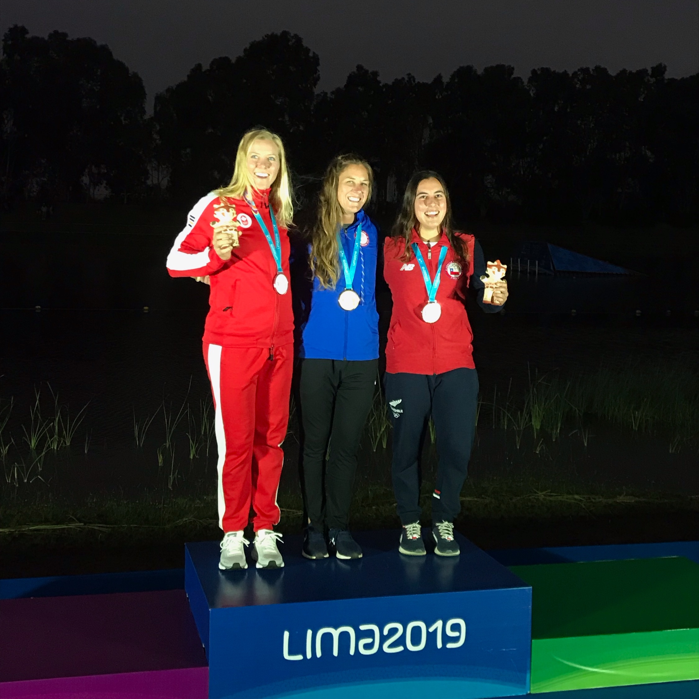 Jaquess, Garcia Win Gold At Pan Am Games - 7/29/2019U.S. Pan American Water Ski Team members Regina Jaquess (Santa Rosa Beach, Fla.) and Taylor Garcia (Winter Garden, Fla.) won gold medals and teammates Mary Morgan Howell (Dothan, Ala.), Erika Lang (Gilbert, Ariz.) and Adam Pickos (Santa Rosa Beach, Fla.) each earned medals on Monday at the XVIII Pan American Games at Laguna Bujama in Lima, Peru. Jaquess won gold medals in women's slalom and jumping, while Garcia won gold in men's jumping.