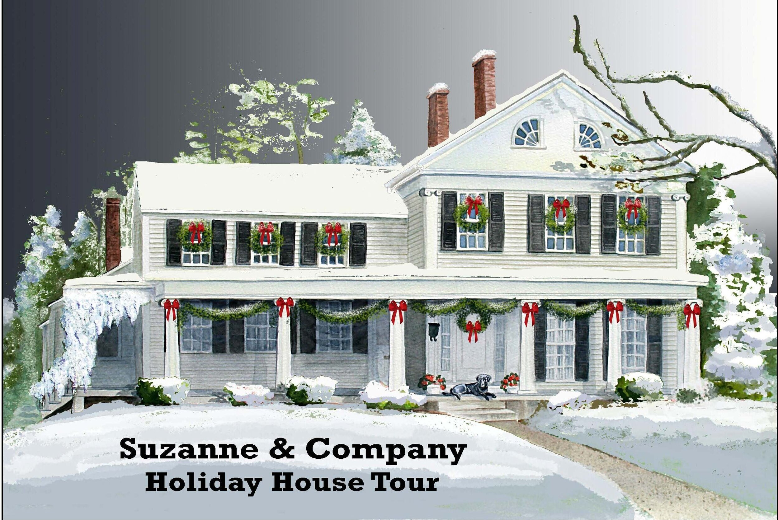 12/8  Suzanne & Co. Holiday House Tour