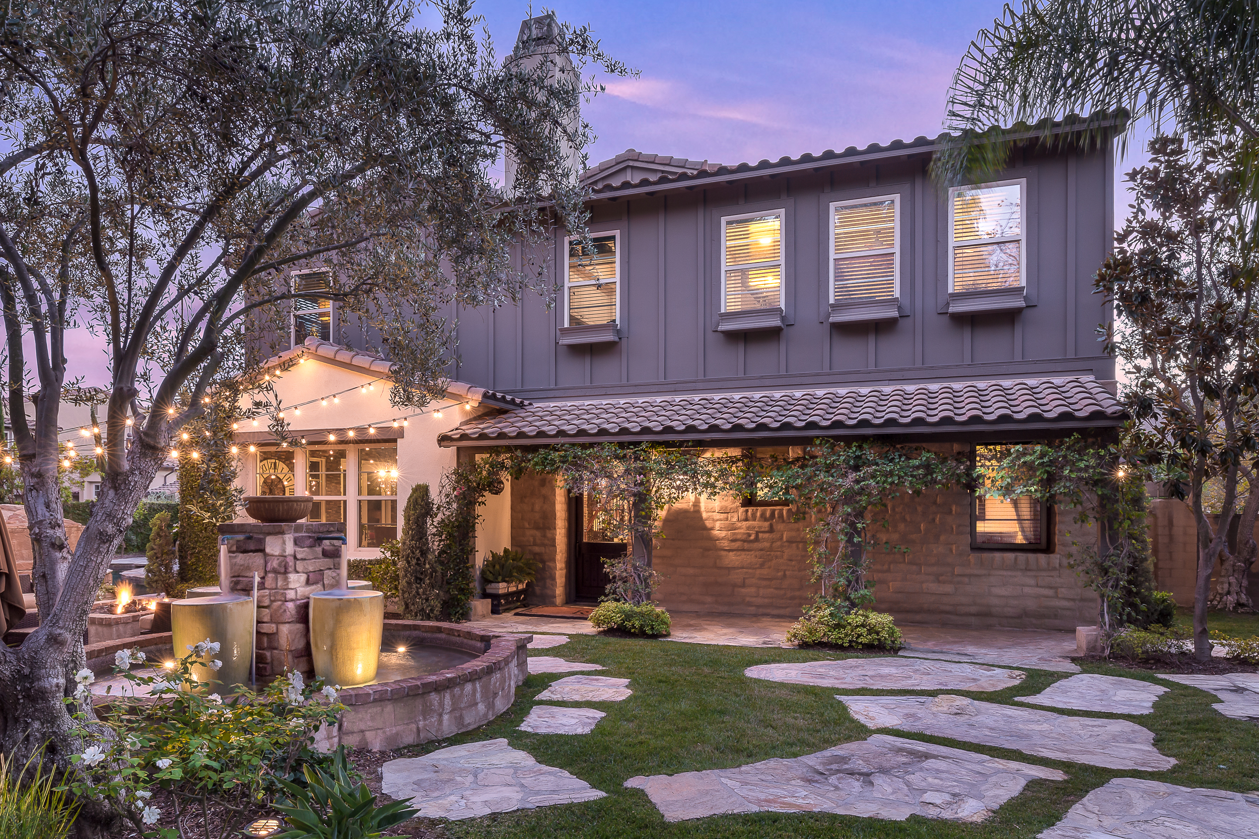 Ladera Ranch Real Estate Photography Twilight Orange County