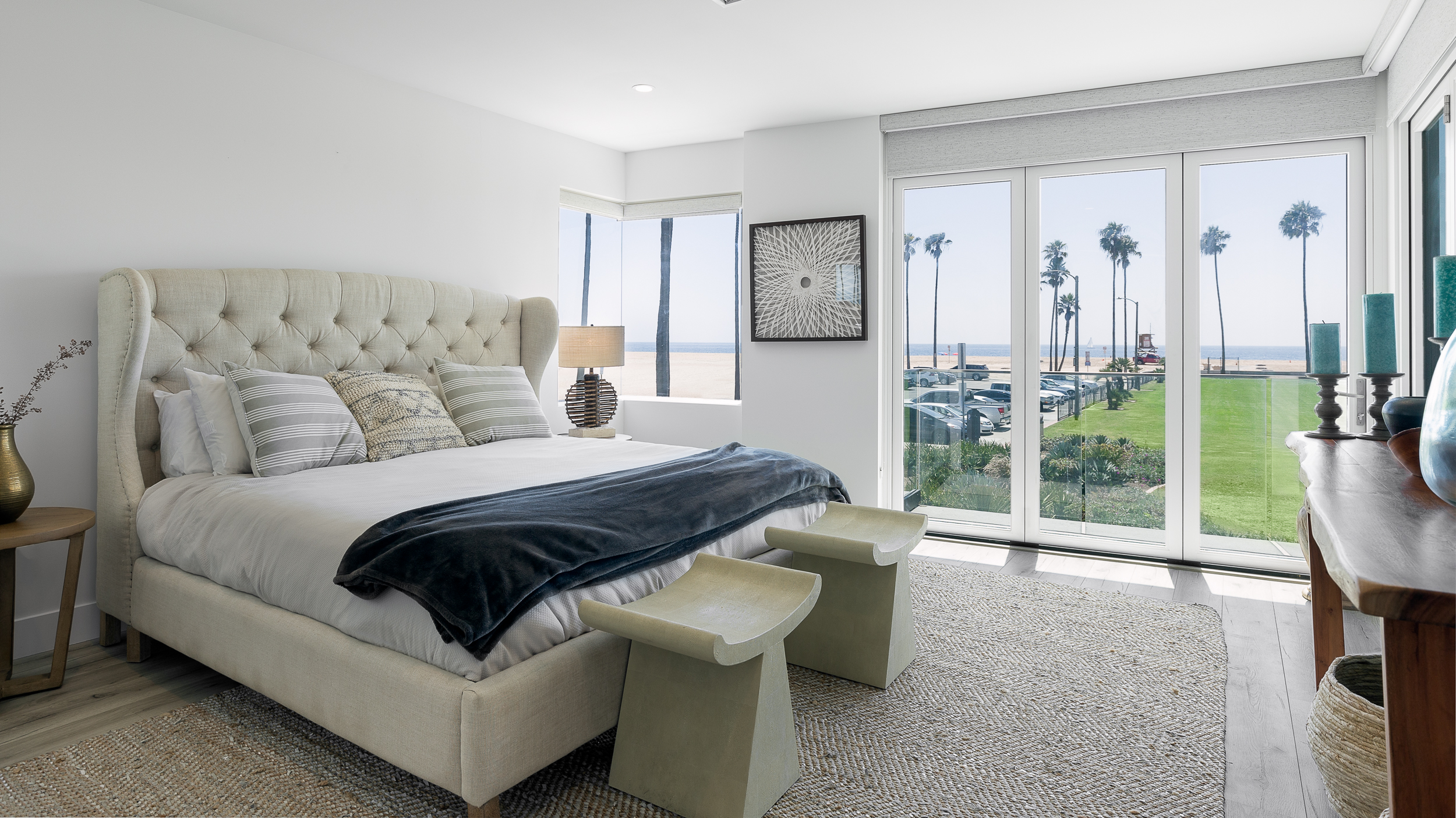 Newport Beach Luxury Real Estate Photography Bedroom