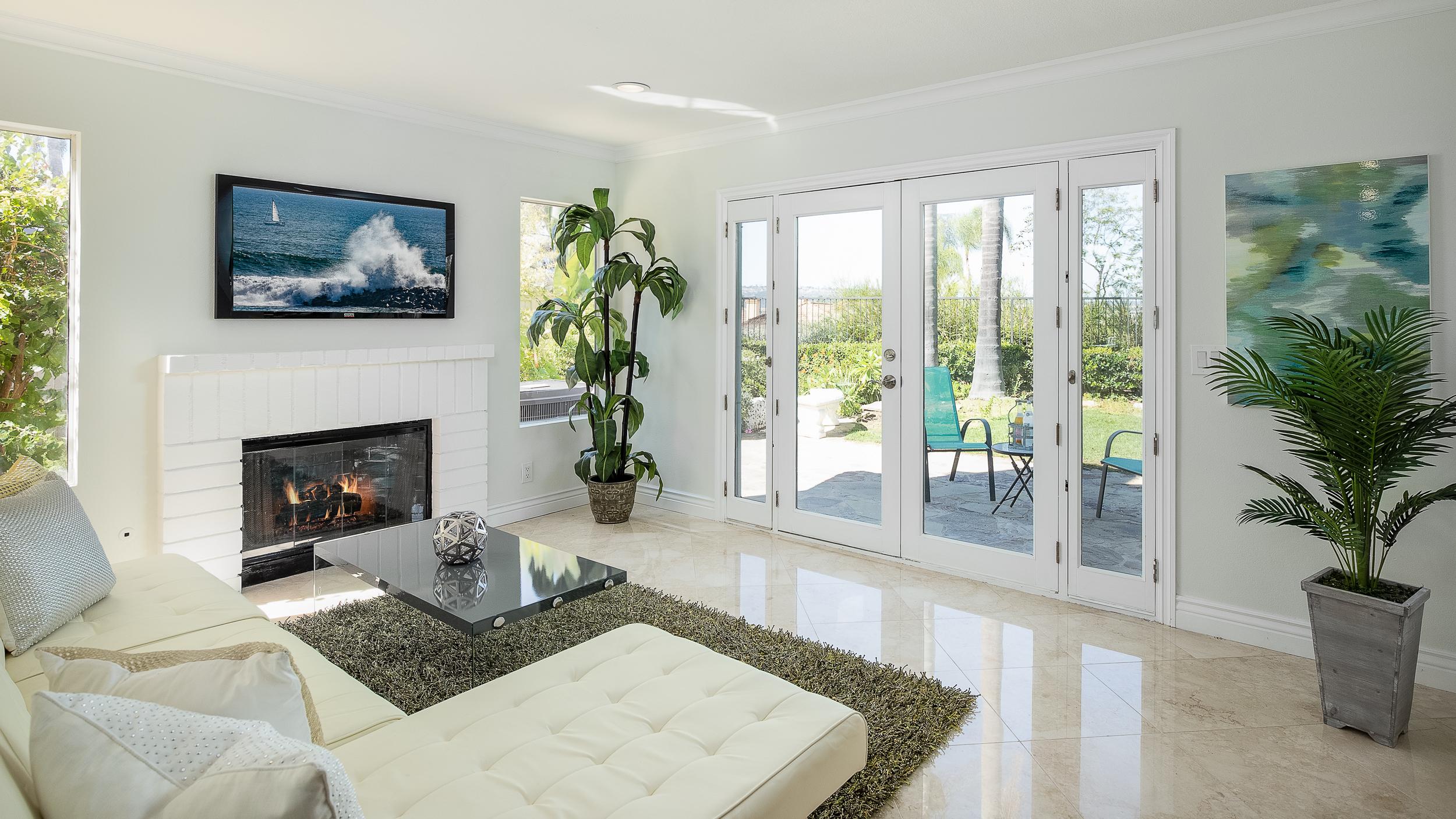 Laguna Hills Real Estate Photography Family Room Orange County