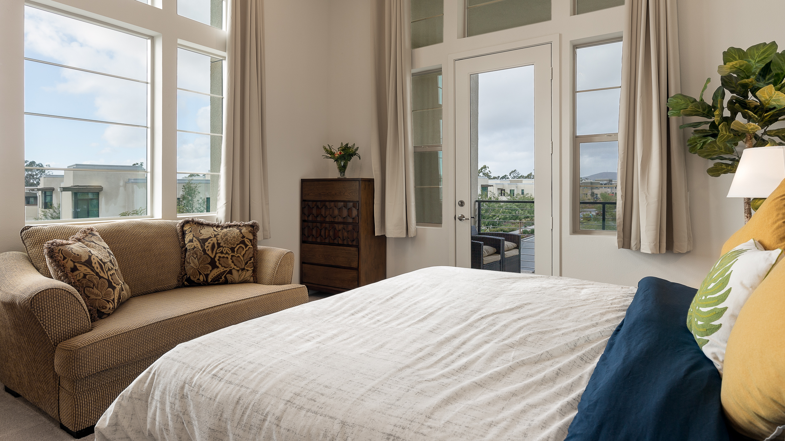 Irvine Real Estate Photography Master Bedroom Orange County