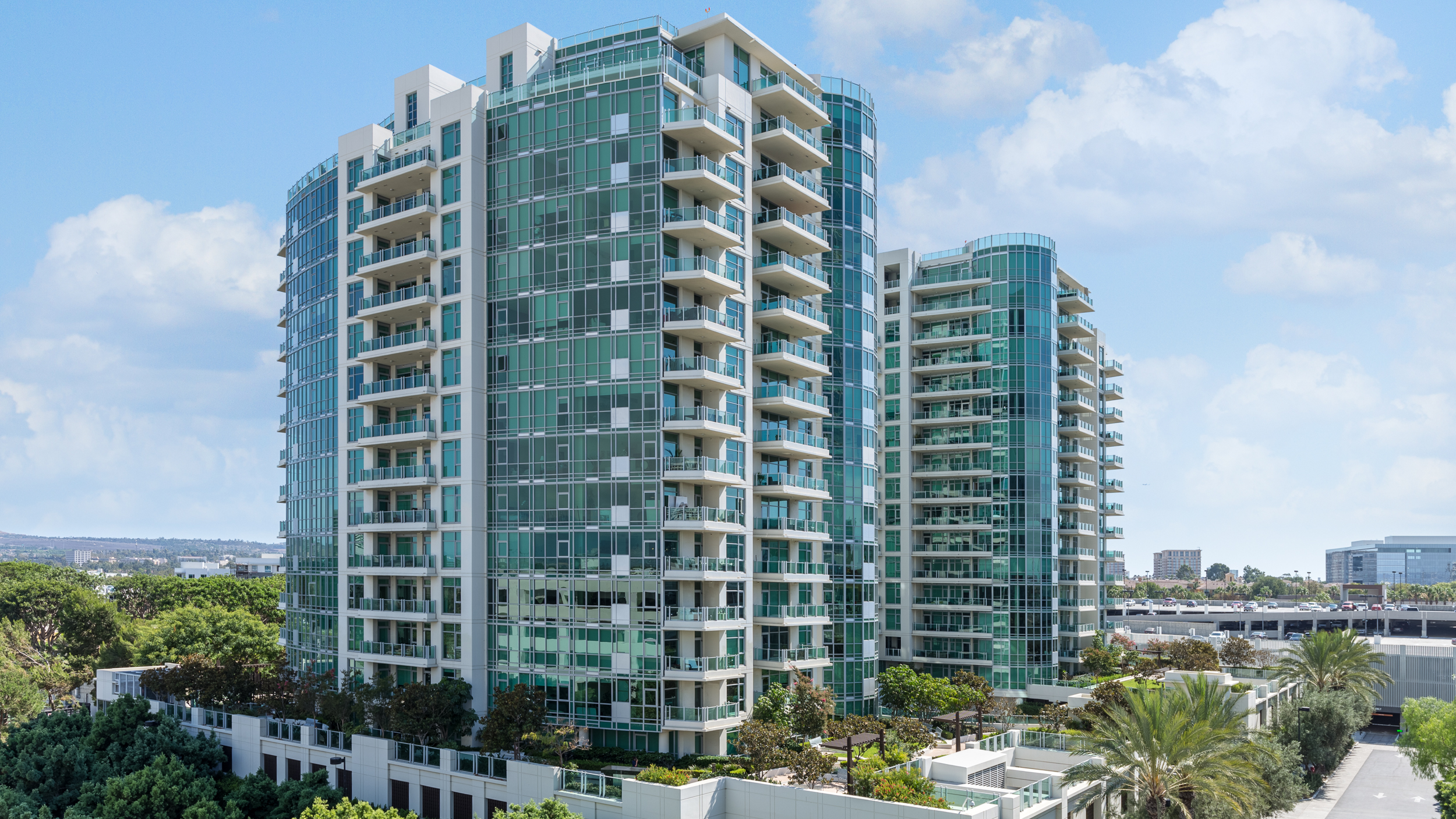 Irvine Luxury Real Estate Photography High Rise Condo Exterior