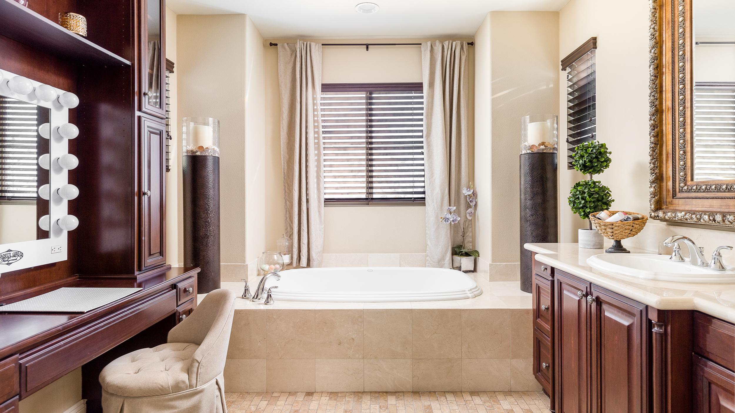 Laguna Niguel Real Estate Photography Master Bathroom Orange County
