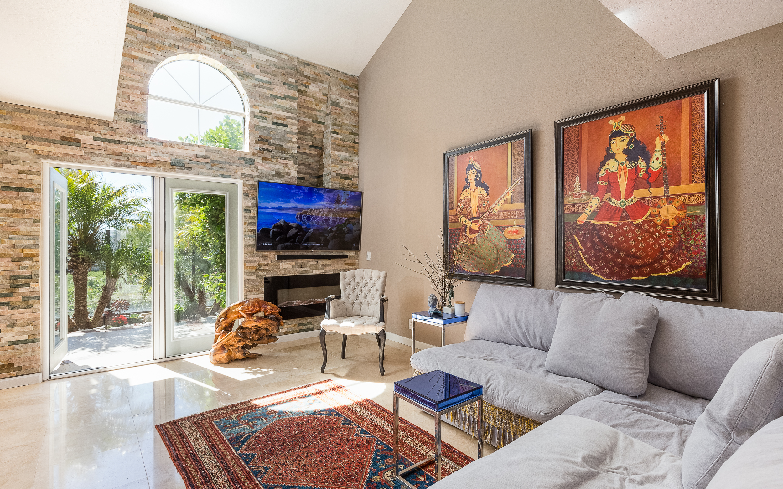 Mission Viejo Real Estate Photography Orange County Living Room