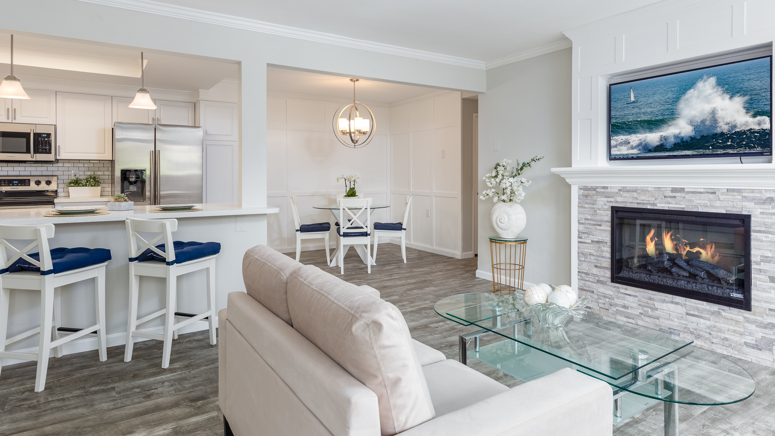 Laguna Woods Real Estate Photography Living Room Orange County