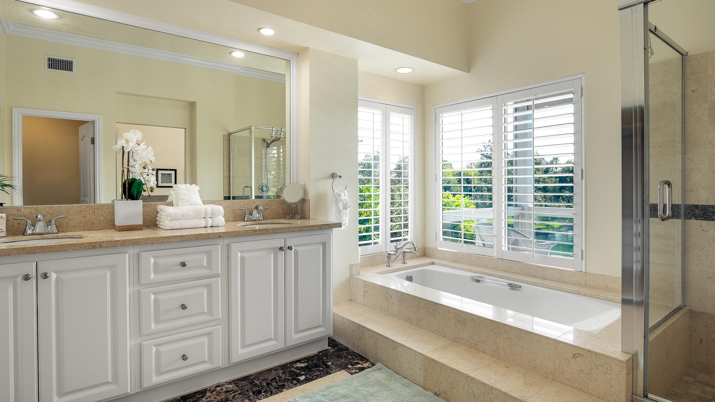 Lake Forest Real Estate Photography Orange County Master Bathroom