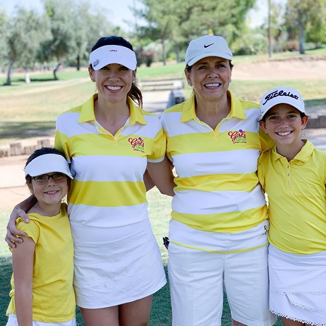 Mother's Day weekend would be complete without a mother/daughter golf tournament with @girlsgolfofphoenix — we had the best time and I love that I got to do it with the most important ladies in my life 💛 #momlife #girlmom #momofgirls #blessedmomma #happyheart