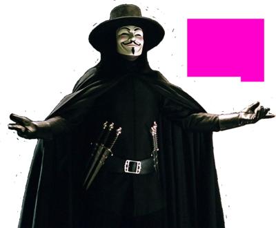 V from V for Vendetta