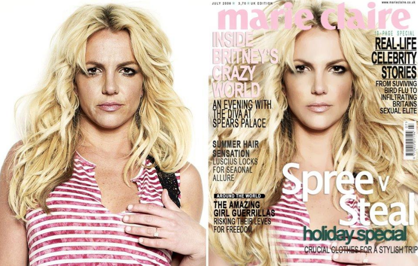 Any larger than life movie star/celebrity. In this case, Britney Spears.