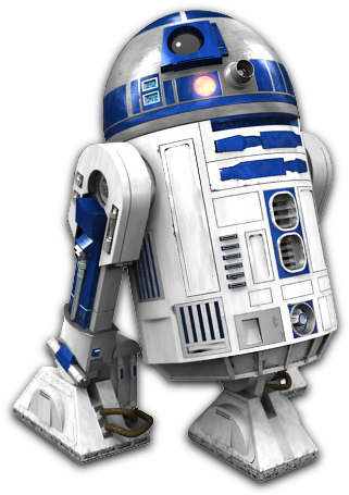 """R2D2 from """"Star Wars"""""""