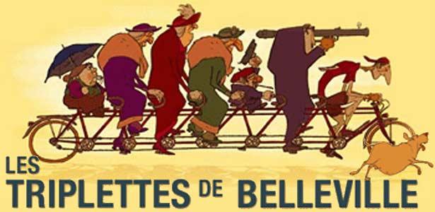 Characters from Les Triplettes de Belleville