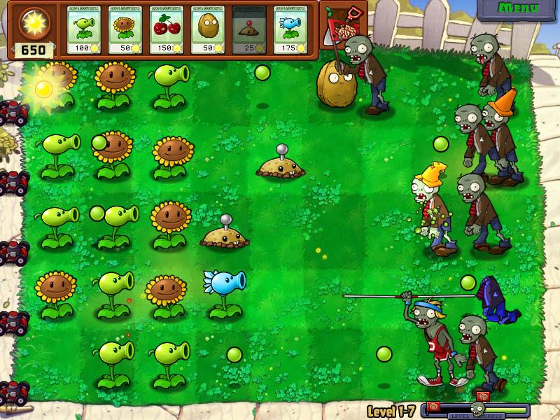Plants v. Zombies