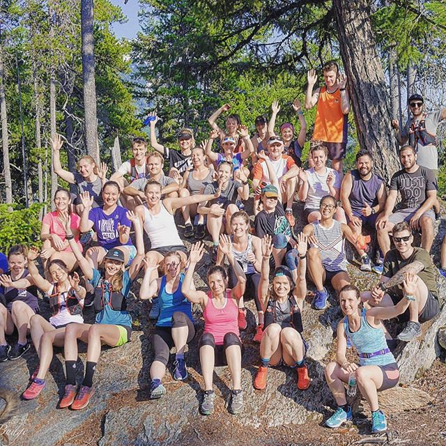 Who doesn't love a good group photo on a sun-facing rock!  Great turn out last night for our first run+recover session of the year.  See you all next week when we celebrate our 2nd birthday. We Run Whistler would be nothing without all our amazing, dedicated, kick-ass members! Come join us for fun, games, apres and CAKE! 5:55pm @lululemon Whistler followed by apres @handlebarbeer . . . . #werunwhistler #joinus #comerunwithus #community #werunallyearlong #werunrainorshine #werunhills #running #trails #trailslife #getsweaty #gethigh #loveyourlife #whistlerlife #whistler #getoutside #greatoutdoors #beautifulbc #trailrunning #mountains #mountainrunning #lululemonambassador #thesweatlife 📷 @longrun32