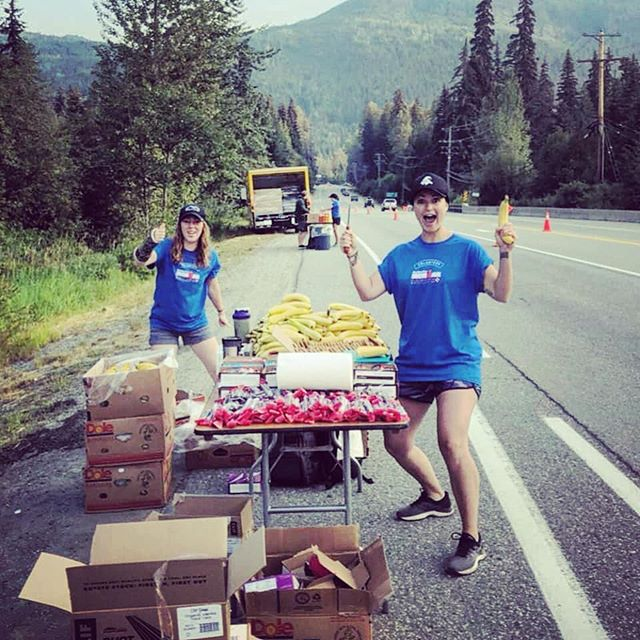 BE LIKE MEL & ALI!  WE NEED YOU!!! Volunteer Callout for Ironman  Ironman weekend is fast approaching and We Run Whistler is desperately in need of more volunteers to man our aid station (Bike Aid 1). Ironman donates money to community groups and organisations in exchange for running aid stations at the event. This money is crucial to We Run Whistler in order to cover expenses as they arise. The grants are only handed out to groups who fill there volunteer quota.  We still have 25 spots to fill!!! Please donate your time on July 28, help some amazing athletes have their best day out there and support our awesome run community!  Please click the link in our bio and choose: BIKE AID 1  THANK YOU in advance!  #werunwhistler #community #comerunwithus #weruntogether #werunallyearlong #supportyourcommunity #ironmancanada #volunteer #gowhistler #thesweatlife #lululemon #lululemonyvr