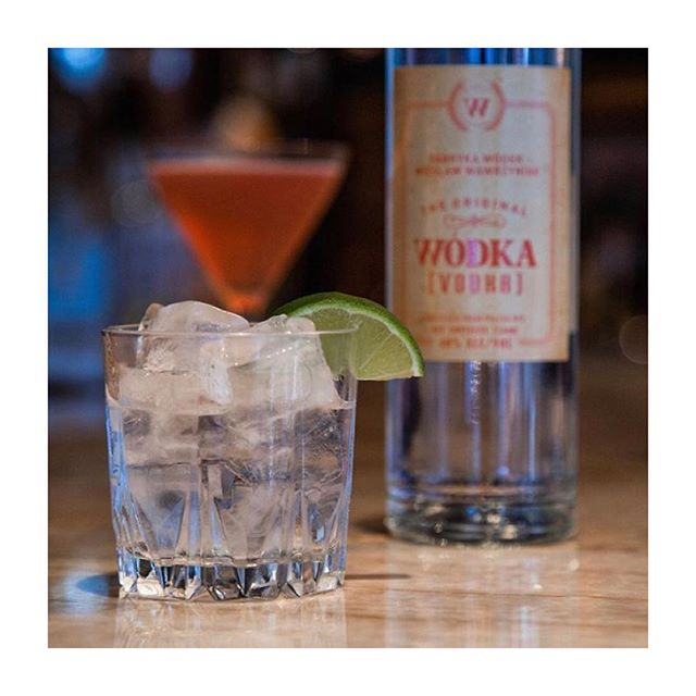 Proudly serving Wodka Vodka Photo Credit: @wodkawodkavodka