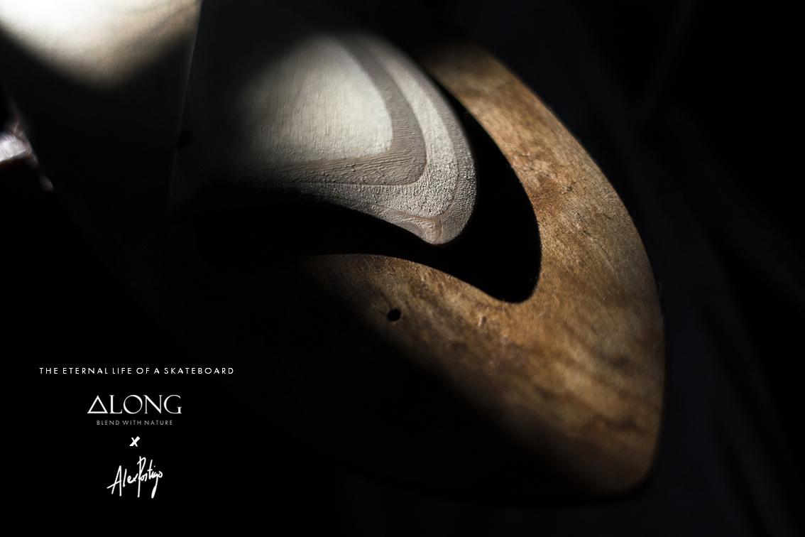 THE ETERNAL LIFE OF A SKATEBOARD   A collaborative effort between ALONG / Custom Shapes and photographer Alex Postigo.