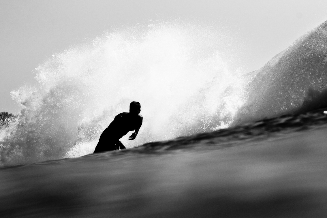 ALONG X JARRED BLAKE   A black & white collaboration with free surfer Jarred Blake in his natural habitat.