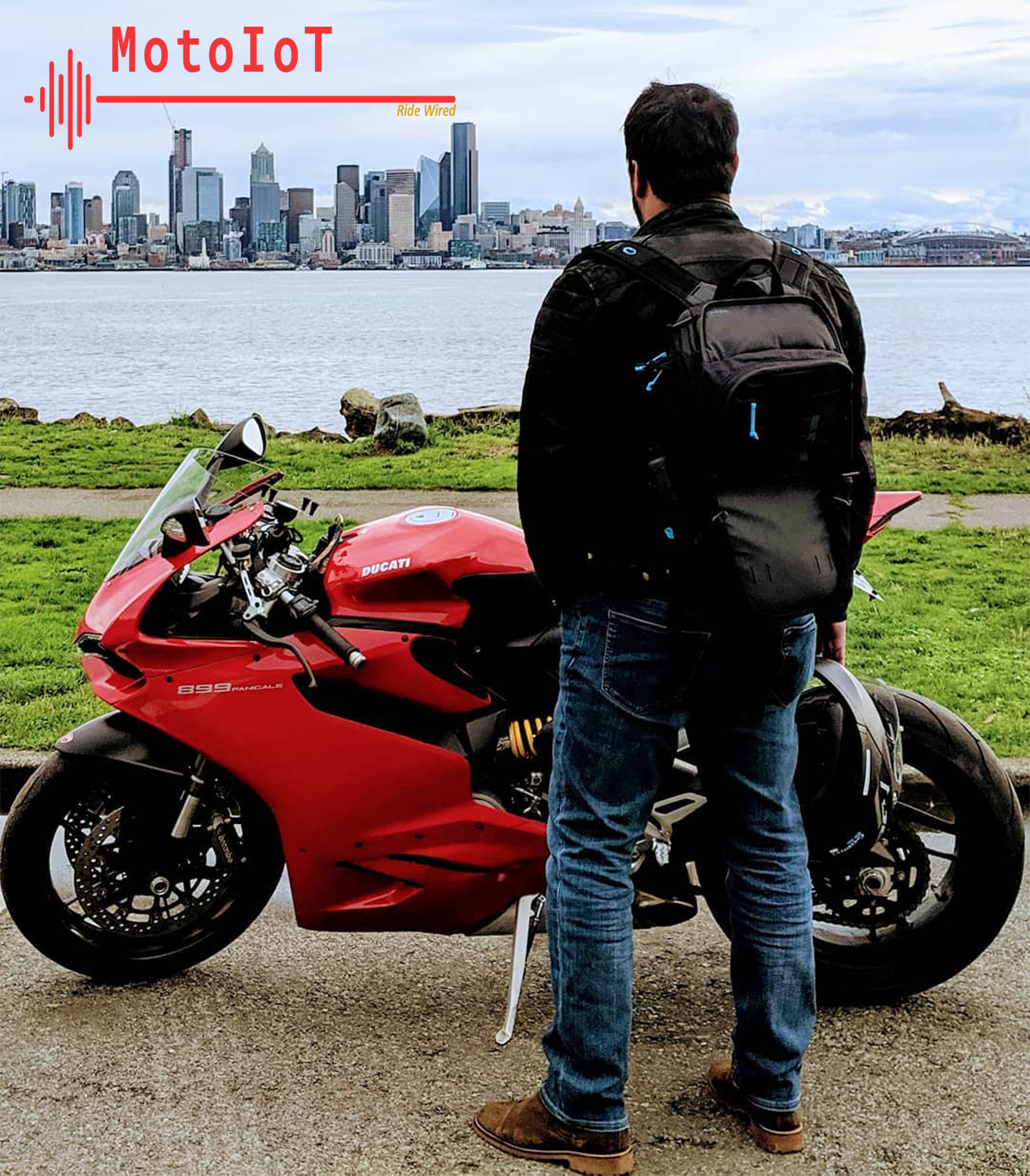 What is motoiot? - It is an idea that was born due to our passion of motorcycle and technology. It is to explore ways to combine the two together and make our riding experience safer and better.