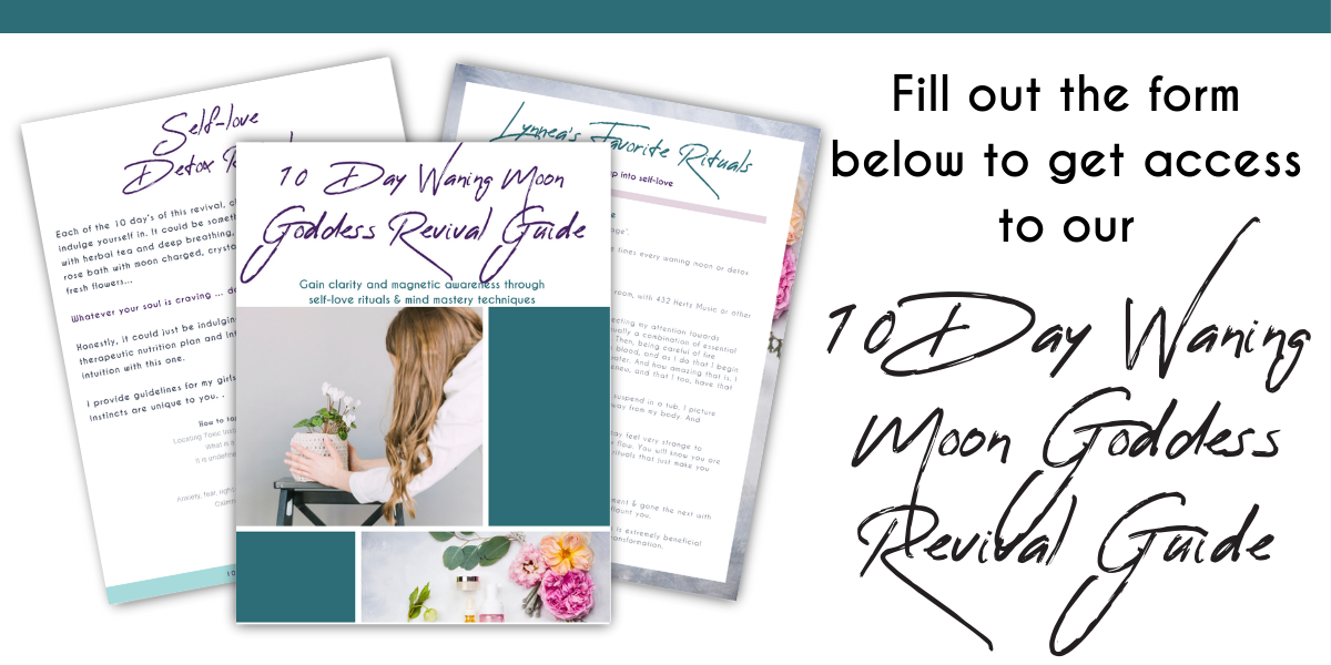 10 Day Waning Moon Goddess Revival Guide | The Vibrancy Project | #goddess #revival #witchyways