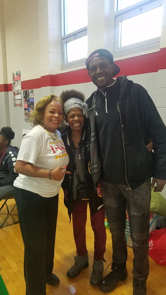 Margaret Demaree - LeeVaughon Morris ex Central High Basketball Player and his mom.jpg