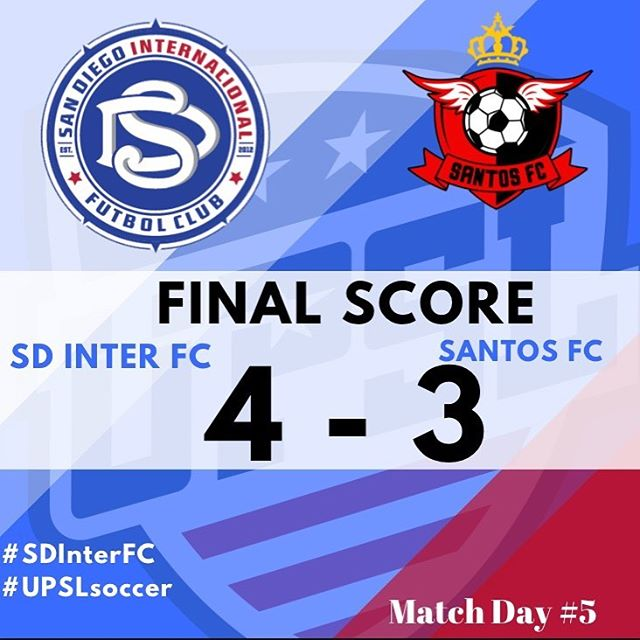 After playing for 120mins, we got the win and the three points!  Thank you for coming out and supporting!  Vamos Inter!  #daleinter #sdinternacionalfc