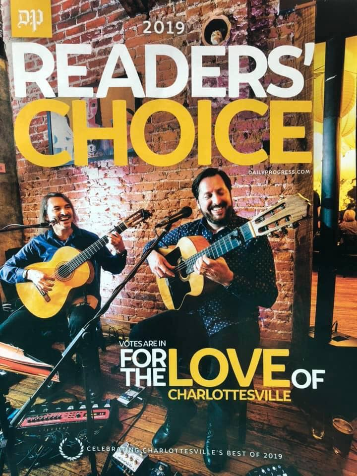 Berto and Vincent - Latin Gypsy Rumba Guitar Duo — Charlottesville