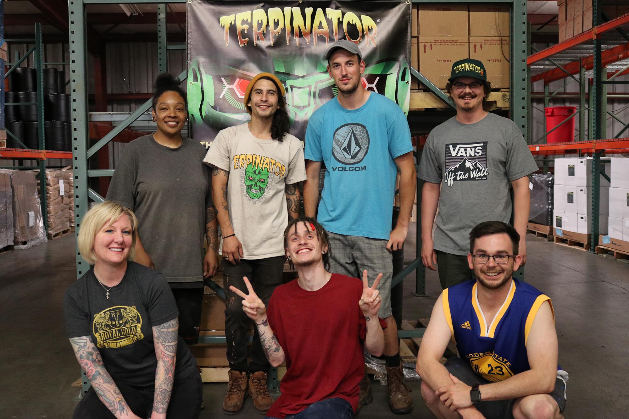 The Terpinator Crew