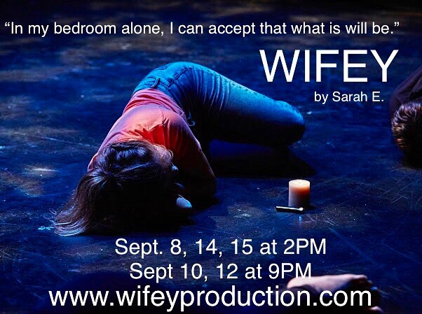 Only 4 more shows left! Get your tickets now! 💍 . . . #wifey #wifeyproduction #wifeyplay #wifeyshow #womensrights #mylifemychoice #effthepatriarchy #fthepatriarchy #experimentalism #experimentaltheatre #experimentaltheater #experimentalnyc #experimentaltheatrenyc #theatreoftheabsurd #theateroftheabsurd #theaterforthenewcity #dreamup #dreamup2019 #dreamupfestival #nytheatre #nyctheatre #nytheater #nytheatre #feminism #feminist #feministart #feministplays #feministshows #nycfeminists 💫 . . . ( photo credit: @xtianasaurus )