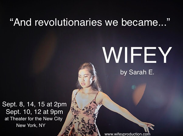 Only 4 more opportunities to see WIFEY by Sarah E. 💍 Tickets still available! 💍 . . . #feministart #feminism #feministwriting #feministshows #nytheater #nytheatre #theatreoftheabsurd #experimentaltheatre #experimentaltheater #mylifemychoice #nohatenofear #nycactor #nyactor #dreamup #dreamupfestival #dreamup2019 #dreamupfestival2019 #theaterforthenewcity #les #lestheatres 💫 . . . ( photo by @xtianasaurus )