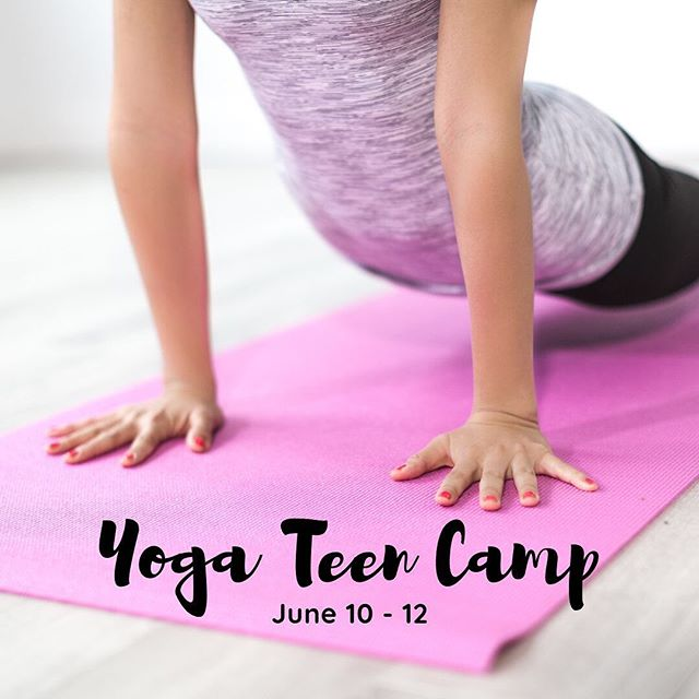 DOJO YOGA / Don't know what to do during your summer break? Bring your friends to our 3 day Yoga Workshop. All teens ages 13 - 19 are welcome to join and no experience is needed! DM us to save your spot or register using the link on our profile.