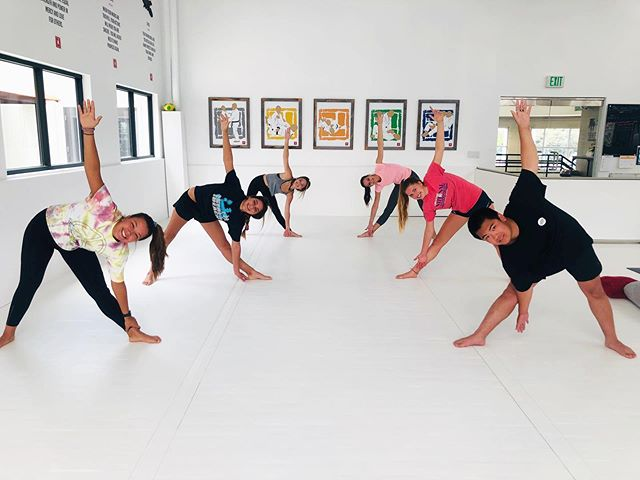 DOJO YOGA / That's a wrap! Our first Teen Yoga Camp was a blast! Such a great group of teens willing to learn all while having fun! We look forward to having another Teen Camp!