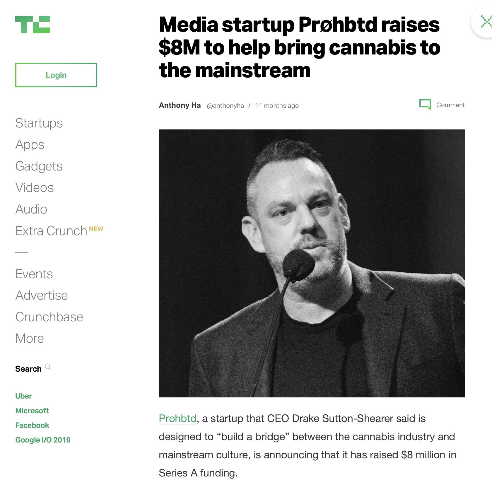 Media startup Prøhbtd raises $8M to help bring cannabis to the mainstream -