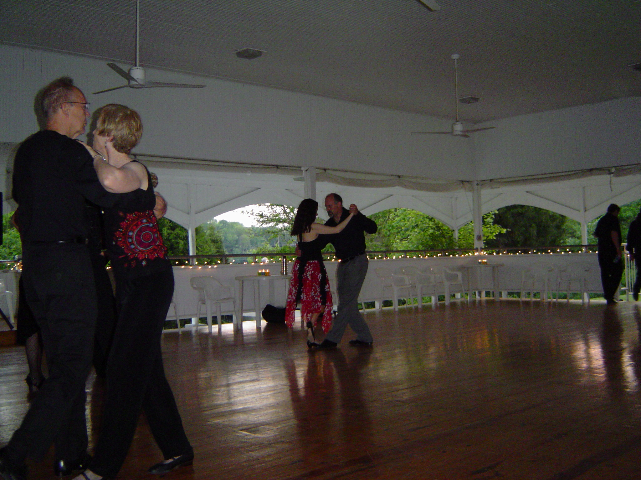 Ha! Kelly and Lu Ann dancing open!