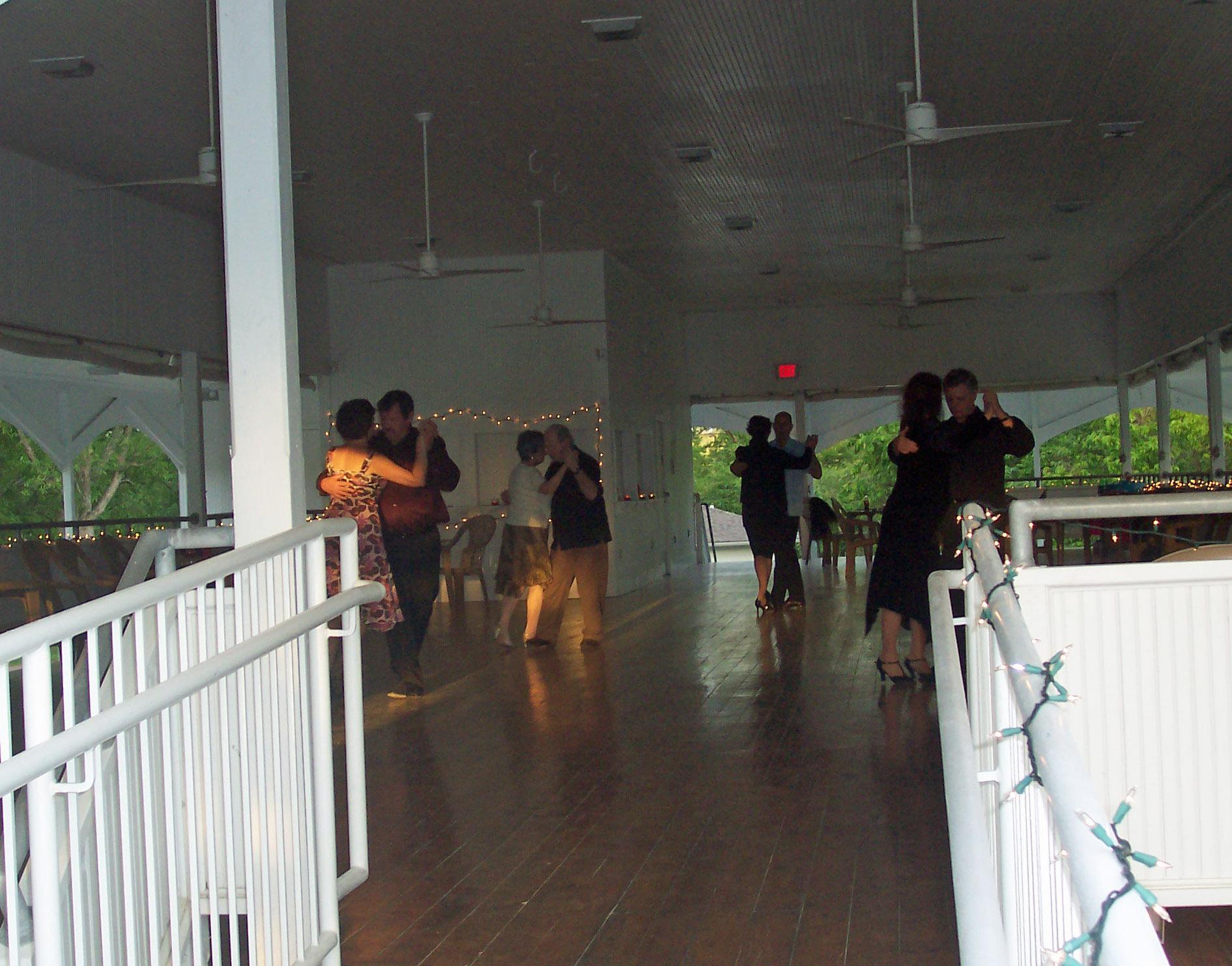 Victorian dancing pavilion