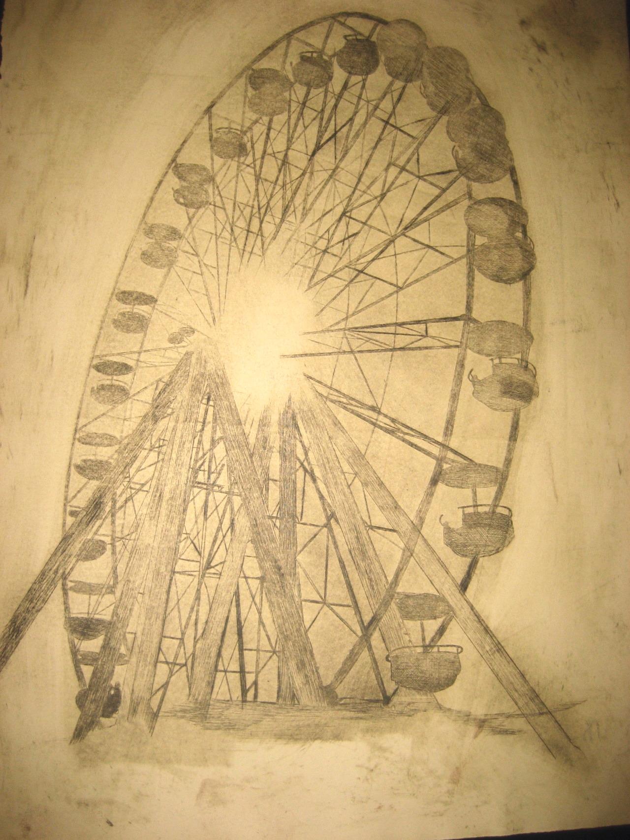 Ferris Wheel, Intaglio