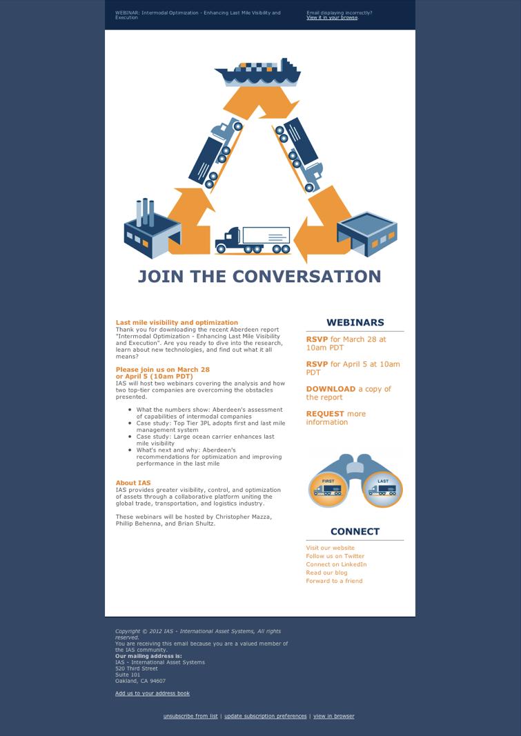 Webinar Invitation