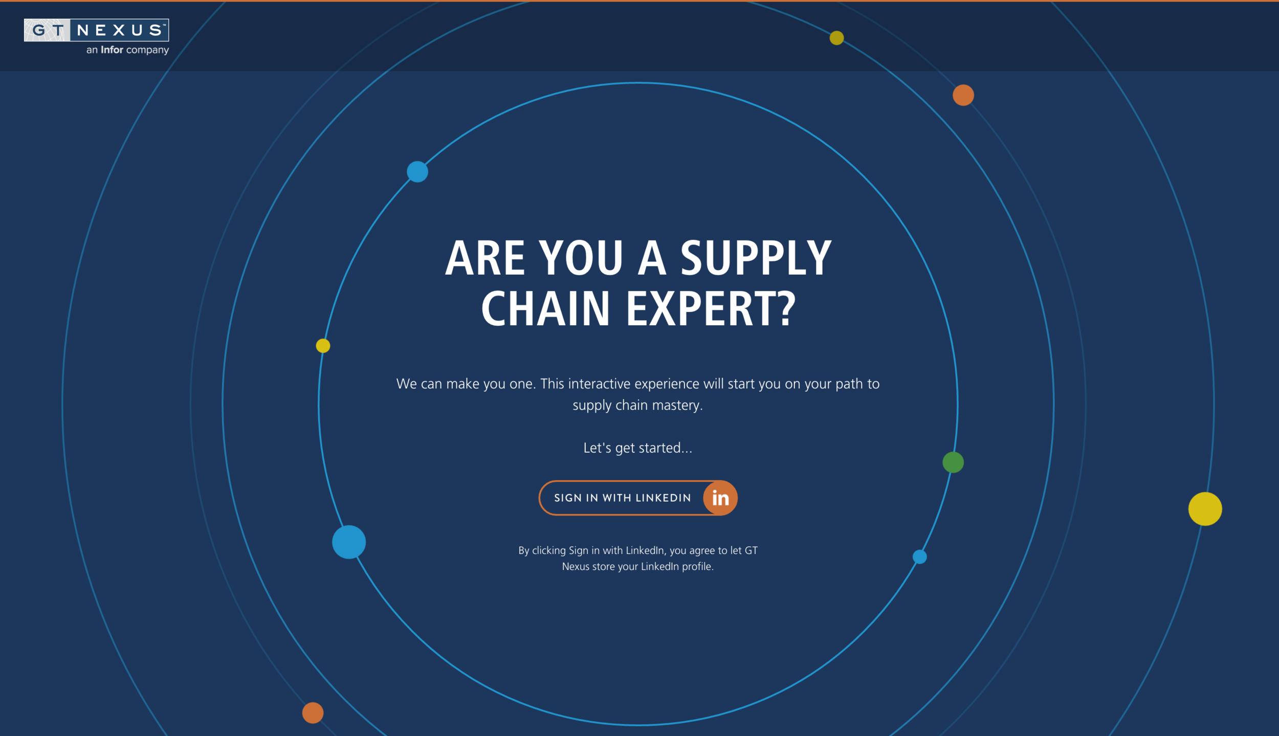 Supply Chain Expert App