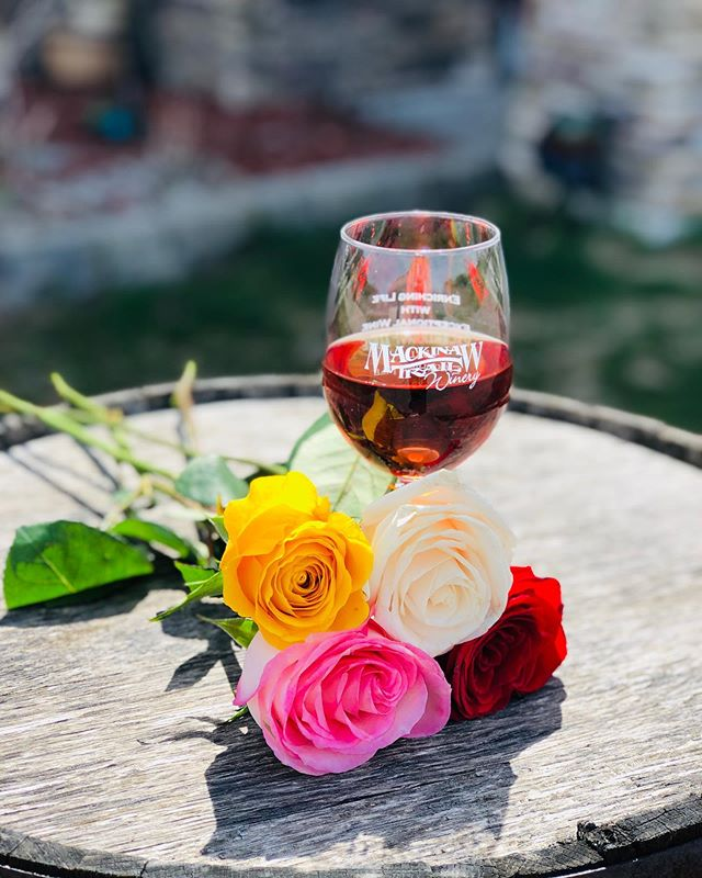 It's Mother's Day Weekend! Join us for our Roses & Rosé event and receive a free rose with the purchase of a wine flight to celebrate! Join us along with the other wineries in the Petoskey Wine Region to enjoy the amazing selection of 2018 vintage wine releases!