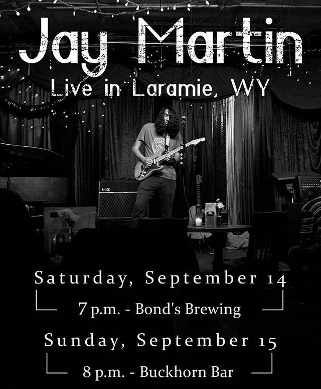 Laramie double-header this weekend!