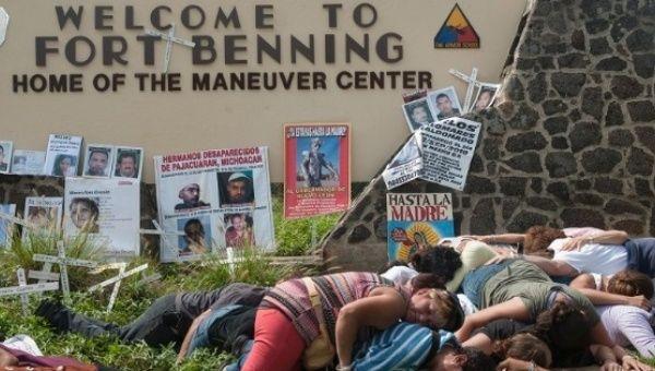SOA Watch Moves Annual Protest to Militarized US-Mexico Border (TeleSUR) -