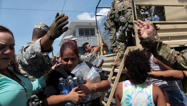 'We're Not Going to Rely on US Govt': Grassroots Groups Mobilize for Puerto Rico Amid Government Neglect (TeleSUR) -